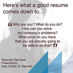 Resumes That Rock