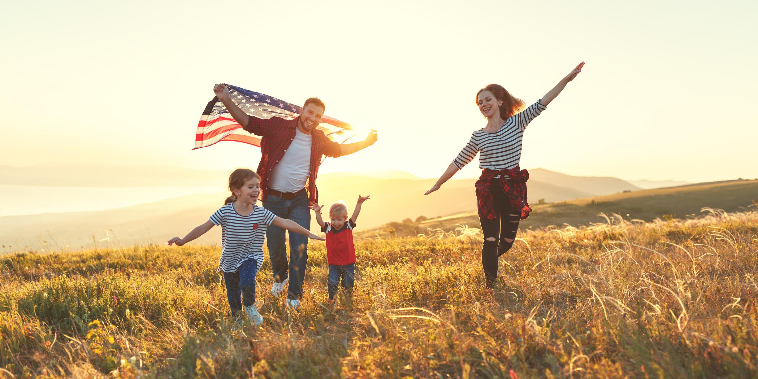 Patriotic Family-1